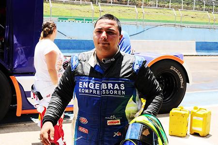 Ricardo Sargo na equipe Volvo