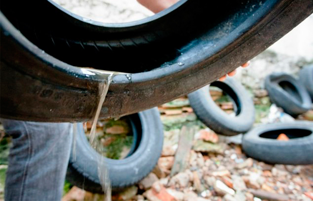 Resultado de imagem para imagens São Paulo faz mutirão para recolher pneus e combater possíveis focos de Aedes aegypt