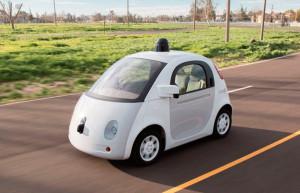 Protótipo do carro autônomo em desenvolvimento pela gigante da tecnologia Google