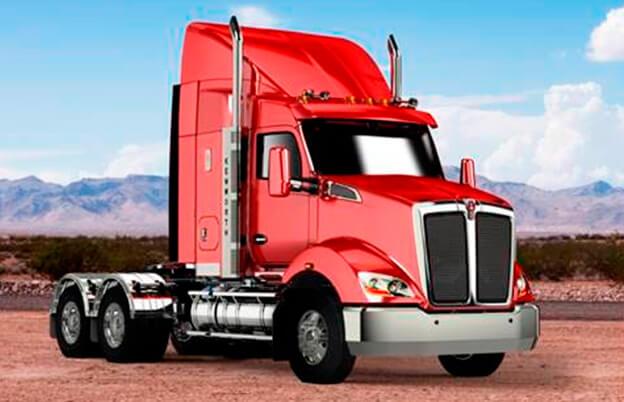 Caminhão Kenworth T610 da Austrália