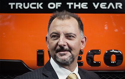Marco Borba, vice-presidente da IVECO para a América Latina.