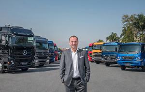 Philipp Schiemer, presidente da Mercedes-Benz do Brasil e CEO América Latina