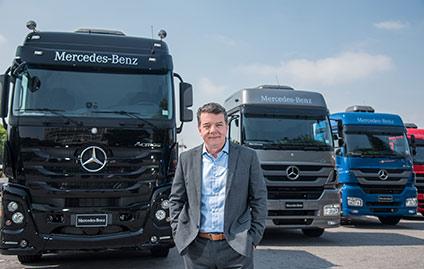 Roberto Leoncini, vice-presidente de Vendas, Marketing e Peças & Serviços Caminhões e Ônibus da Mercedes-Benz do Brasil