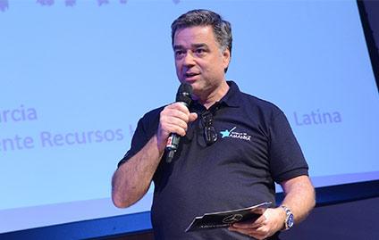 Fernando Garcia, vice-presidente de Recursos Humanos da Mercedes-Benz do Brasil