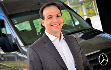Jefferson Ferrarez, diretor de Vendas e Marketing Vans da Mercedes-Benz do Brasil