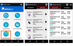 App do Detran.SP auxilia na agenda de manutenção do carro