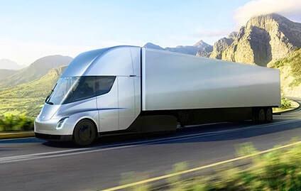 Caminhão elétrico - lançamento da Tesla