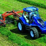 Trator conceito New Holland movido a biometano
