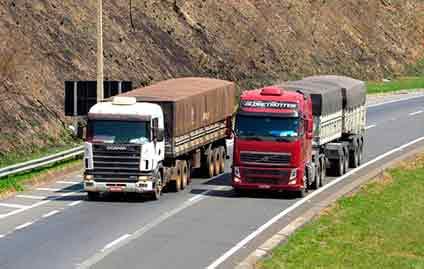 A redução da burocracia no transporte rodoviário de cargas