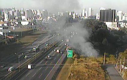 Ocorrências de incêndio nas estradas aumentam nesta época